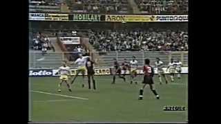 1990/91, Serie A, Genoa - Lecce 0-0 (04)