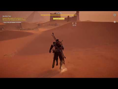 Assassin's Creed Origins - Temple Of A Million Years