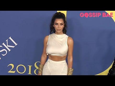 Kim Kardashian and Kourtney Kardashian stun at the CFDA!