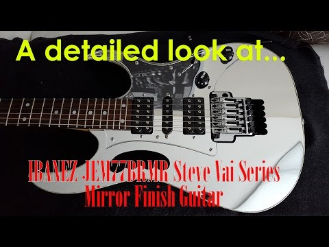 Ibanez JEM77B RMR Mirror Finish Electric Guitar - RARE and BEAUTIFUL!
