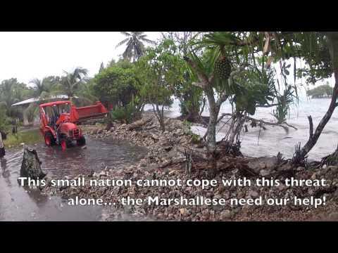 Majuro sea surge 2014