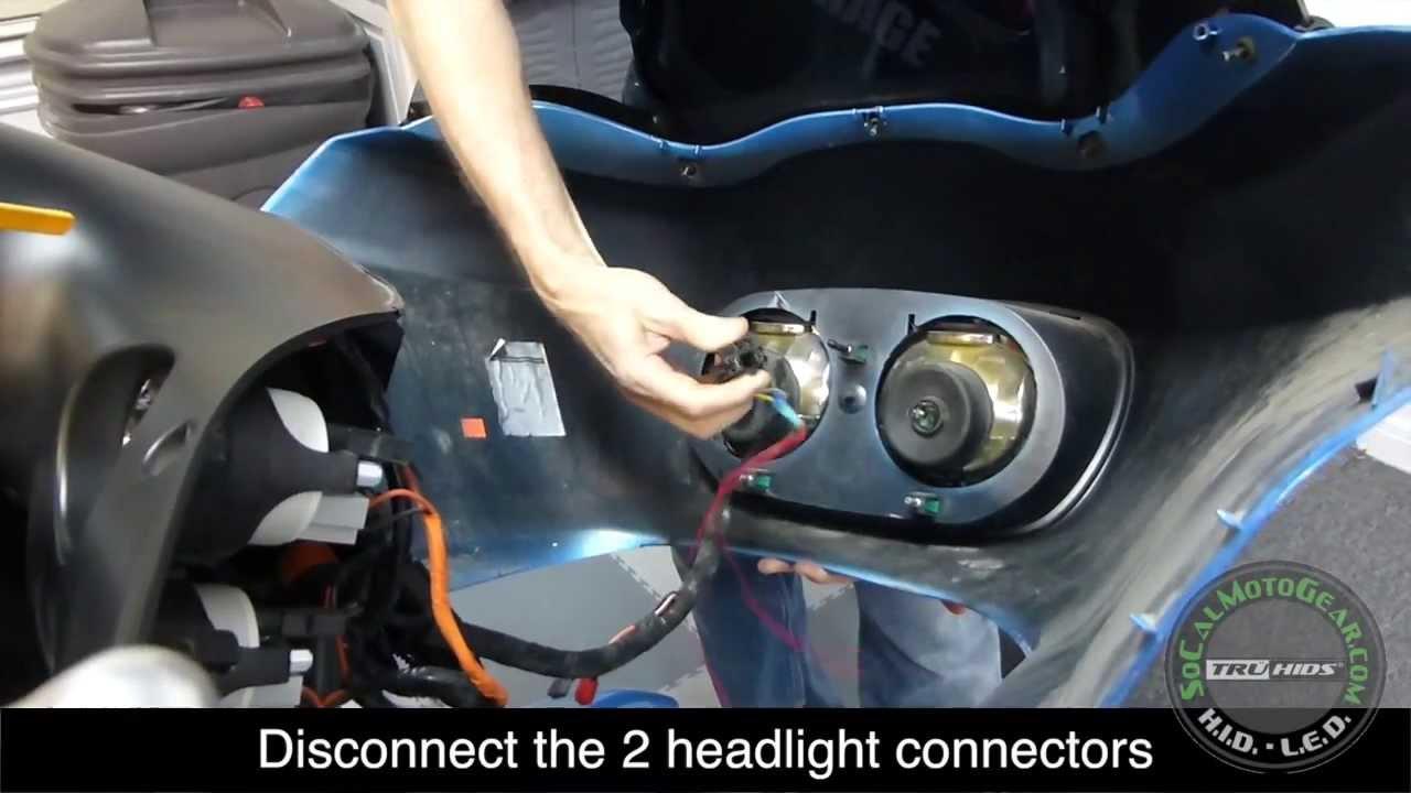 Harley Road Glide Hid Kit True Plug N Play By