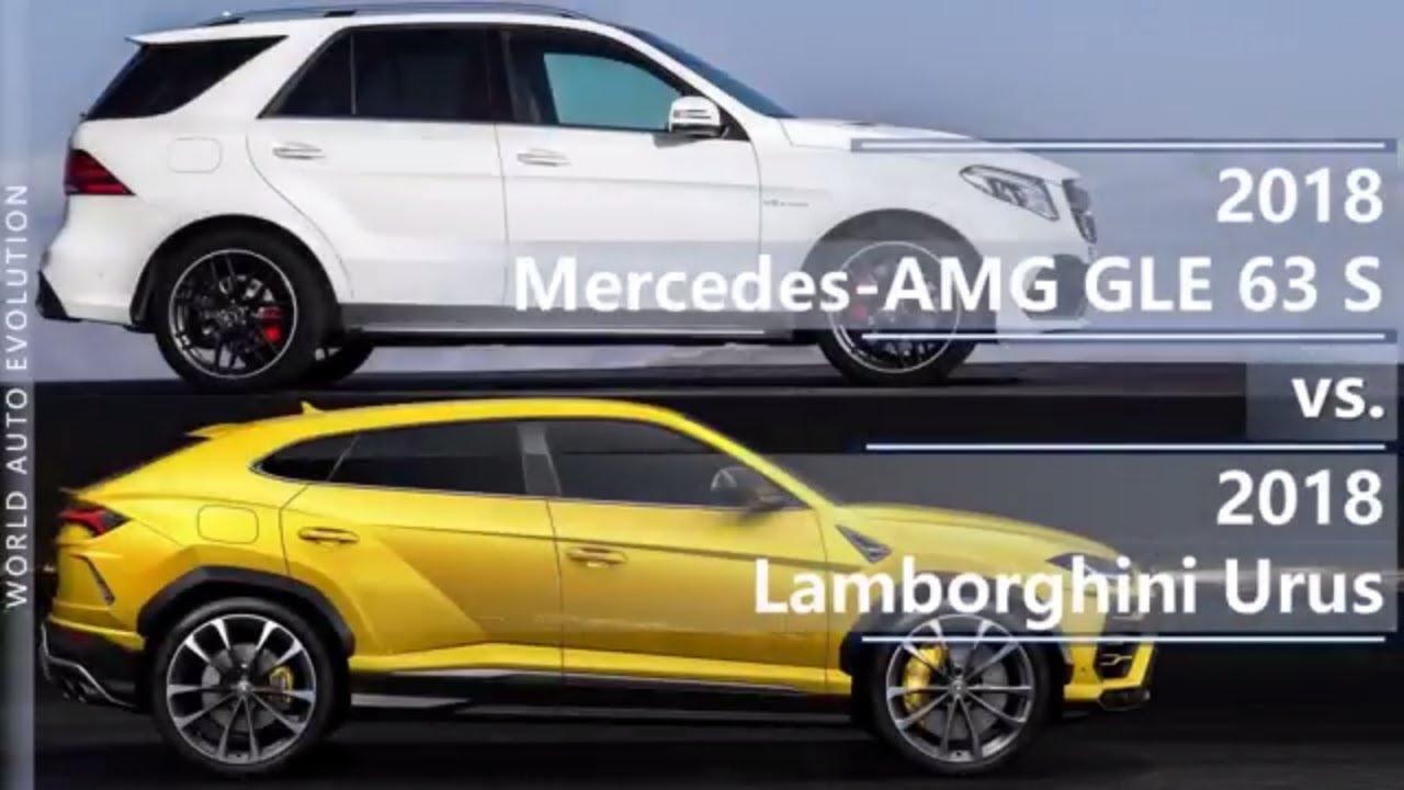 Gle 63s Amg >> 2018 Mercedes-AMG GLE 63 S vs 2018 Lamborghini Urus ...