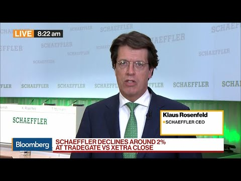 Schaeffler CEO on 2020 Targets, Job Cuts, Auto Sector, Brexit