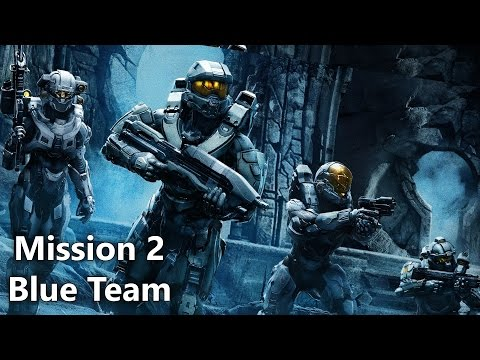 Halo 5 Blue Team Campaign No Commentary (Halo 5 Guardians Gameplay)