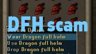 Dragon Full Helm scam, watch out