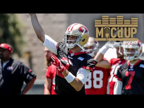 Mic'd Up: QB Brian Hoyer at 49ers Minicamp