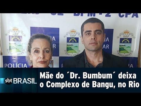 Mãe do ´Dr. Bumbum´ deixa o Complexo de Bangu, no Rio | SBT Brasil (18/08/18)