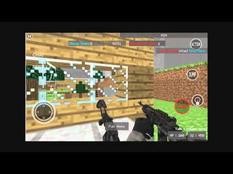 Pixel Combat Multiplayer Gameplay