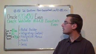 1Z0-430 – Oracle Exam WebCenter Test Portal Questions