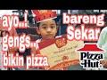 #pizzahut #sekar #rani #maharani  Sekar Bikin pizza meatlovers Restaurant pizzaHUT
