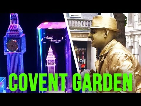 The UK Today - Walking Around Covent Garden Market...London ( West End ) WC2