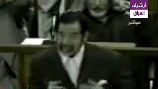 شاهد كيف أحرج صدام حسين القاضي رزكار محمد امين حول تعرضه للتعذيب