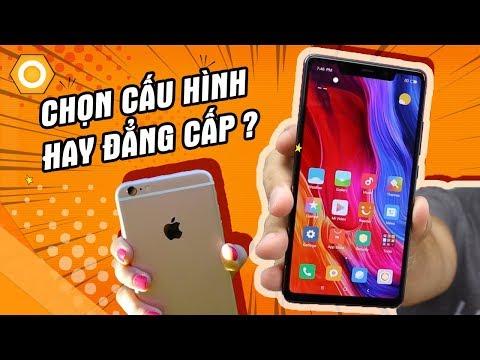 iPhone 6s plus vs Mi 8 SE - Chọn cấu hình hay đẳng cấp?