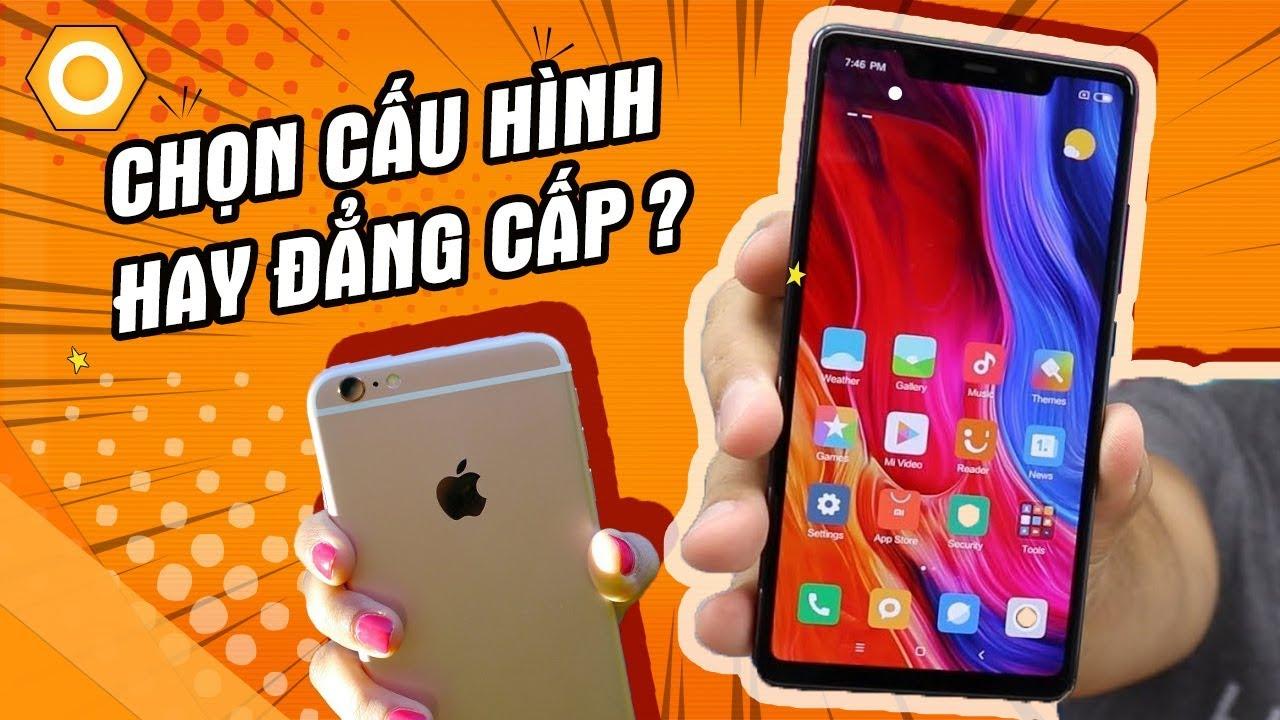 iPhone 6s plus vs Mi 8 SE - Chọn cấu hình hay đẳng cấp? Video