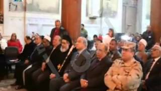 بالفيديو: محافظ المنيا يشهد احتفالية يوم السلام العالمي بالكنيسة الكاثوليكية0