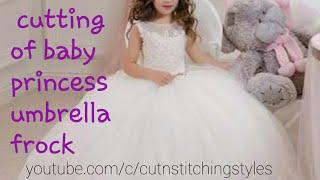 अपनी princess के लिए बनाए यह खुबसूरत designer फ्राक, cutting of  little angel