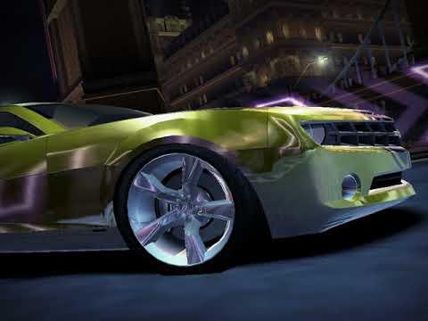 Nfs Carbon 2006 Chevrolet Camaro Concept Vs Darius Youtube