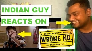 Indian guy reacts to wrong number trailer