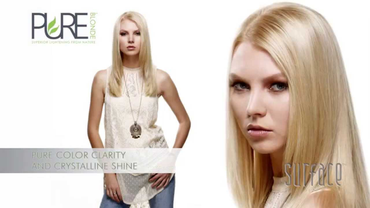 Surface Pure Blonde Pure Color Permanent 20vol Eca Demi 7vol Eca