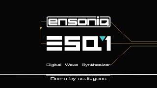 Ensoniq ESQ-1 Custom Patch Demo