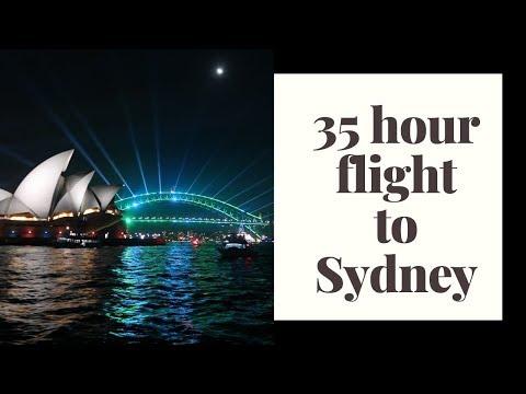FLYING TO SYDNEY! // Australia Travel  Vlog