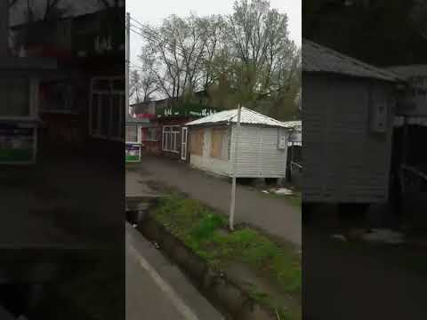 "Место, где мужчину пнул милиционер, а не охранник рынка ""Кудайберген"""