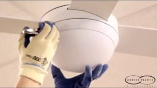 Ceiling Fan Glass Cover Removal - Light Bulb Glass Dome