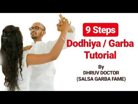 9 STEPS DODHIYA/GARBA TUTORIAL | HAND MOVEMENTS FOR BEGINNERS | DD-The Dance Factory-Khelaiya Group
