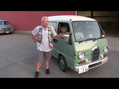Coop Shows Off His Japanese, Subaru, Sambar Kei, Micro Van.