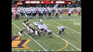 SUNY Maritime at Norwich Football