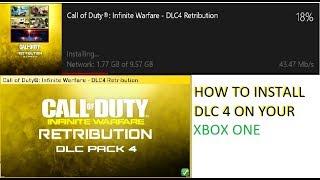 HOW TO INSTALL DLC 4 RETRIBUTION ON XBOX ONE (Infinite Warfare)