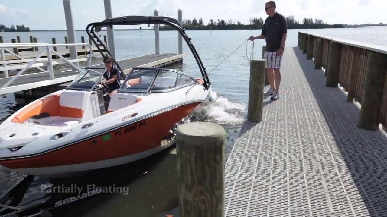 Sea-Doo Boat How To Clinix - How To Launch And Dock A Sea-Doo Boat   Seadootv 03:02 HD