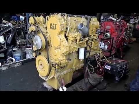 Motor Caterpillar C15, 475 HP año 2007  YouTube