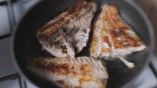 Пикша (жареная с лимоном)