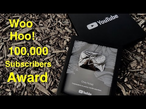 I Love My Fans ! ● 100,000 Subscriber Award Silver Play Button