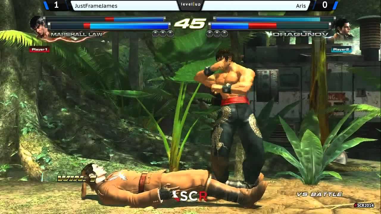 Just Frame James vs Aris - Tekken Tag 2 - SCR2014 DAY2 - YouTube