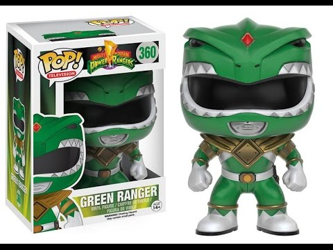 My first and only Funko Pop! [ Green Power Ranger AKA: Tommy Oliver ].