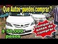 AUTOS USADOS Y CAMIONETAS DESDE 💲 50mil a 💲 100mil pesos ✅  ZONA AUTOS autos usados en venta