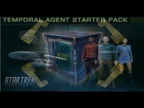 Temporal Agents Starter Pack + Key Ring Bundle - Ultimate Tech Upgrade - STO