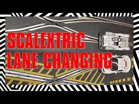 Scalextric Lane Changing