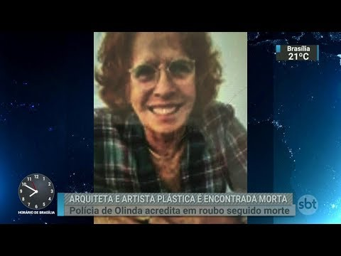 Morre a arquiteta e artista plástica Maria Alice Soares dos Anjos | SBT Brasil (14/03/18)