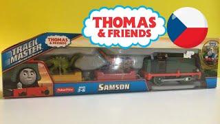 Unboxing Fisher-Price Trackmaster Thomas y sus amigos Samson Dinos Discoveries  (01664 z es)