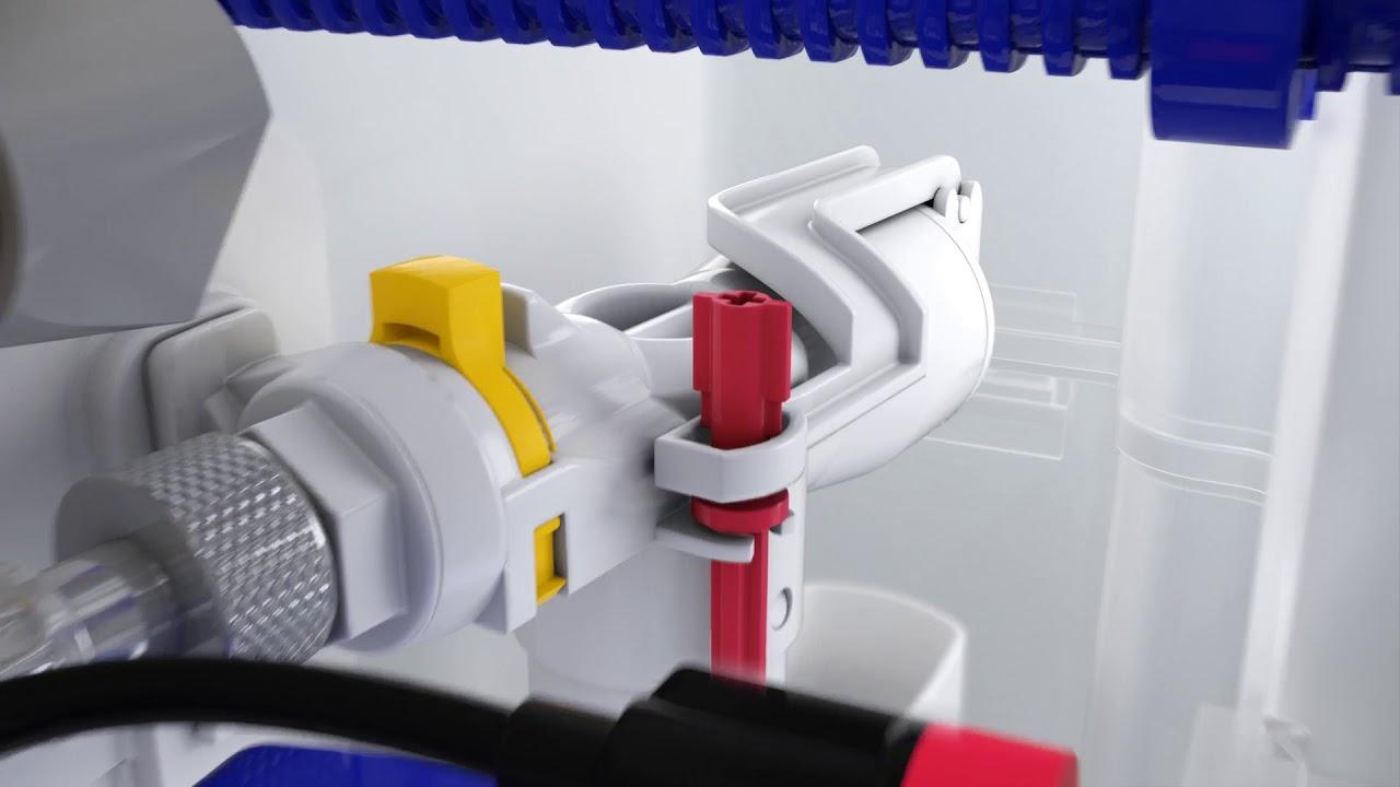 Gut gemocht Einstellung der Spülmengen mit VIS CONEL - YouTube XM54
