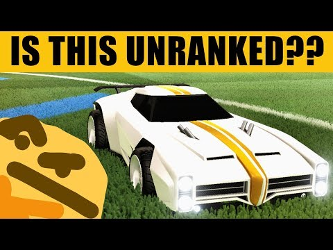 IS THIS UNRANKED?? Rocket League | JHZER thumbnail