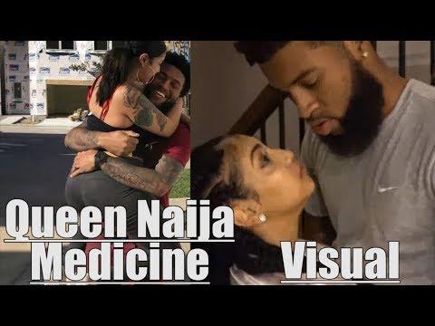 Queen Naija -  Medicine (Visual) (Chris Sails Diss)
