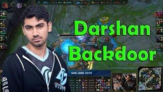 Darshan backdoor with Jax