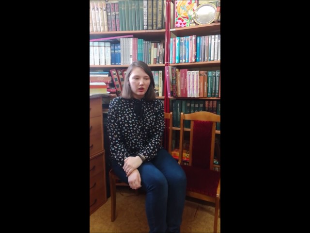 Изображение предпросмотра прочтения – ИринаБолдырева читает произведение «Лиличка! (Вместо письма)» В.В.Маяковского