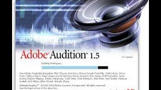 طريقة فصل الصوت عن الموسيقى ببرنامج Adobe Audition 1.5(الدرس 1من الدورة) HD
