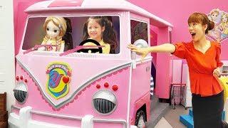 이렇게 멋진 키즈카페가 있었다니!! 서은이의 소피루피 빠샤메카트 요괴 메카드 키즈카페 Big Pink Car Power Wheels